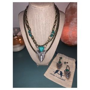 Convertible necklace and earrings